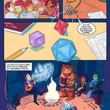 Dicey Delivery - a graphic novel