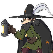 Gunpowder plotters - Artwork for an educational animation.