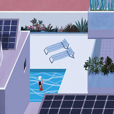 Generate and sell energy. Illustration for an article in La Nación (Argentinian newspaper), Sunday magazine.