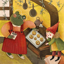 Froda the Frog and Alice