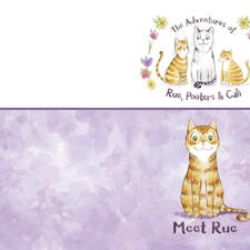 Meet Rue (1) (Adventures of Rue, Pooters & Cali) by Hazlette H Burns