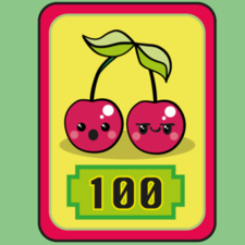 Kawaii style game cards