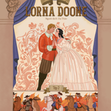 Client: Dinh Ti Publisher Duration: June 2019 - July 2019  Lorna Doone is a classic novel that has a long history in publishing, theater, and movie. In 2020, Dinh Ti Publisher (Vietnam) commissioned me to recreate the books' covers. The story is a romance based on a group of historical characters and set in the late 17th century in Devon and Somerset, particularly around the East Lyn Valley area of Exmoor.