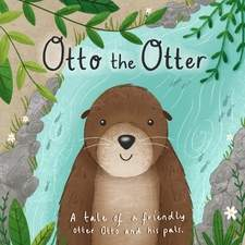 Otto the Otter front cover. Personal project.