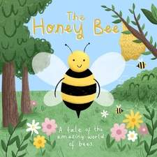 The Honey Bee front cover. Personal project.