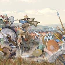 the battle of Catalaunum, AD 451