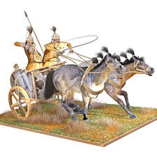 chariot warriors, Carpathian Basin, about 1400 BC