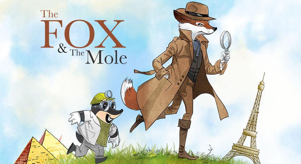 A sample illustration for a YA adventure graphic novel.