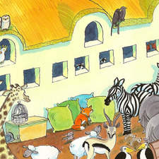 Animals on the Ark.