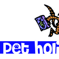 logo design/illustration for My Pet Holiday website