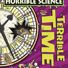 cover illustration for Horrible Science Terrible Time