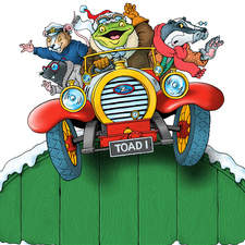Wind in the Willows type characters for advertising campaign