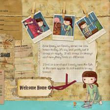 My Strange New Home - Lily's Diary.
