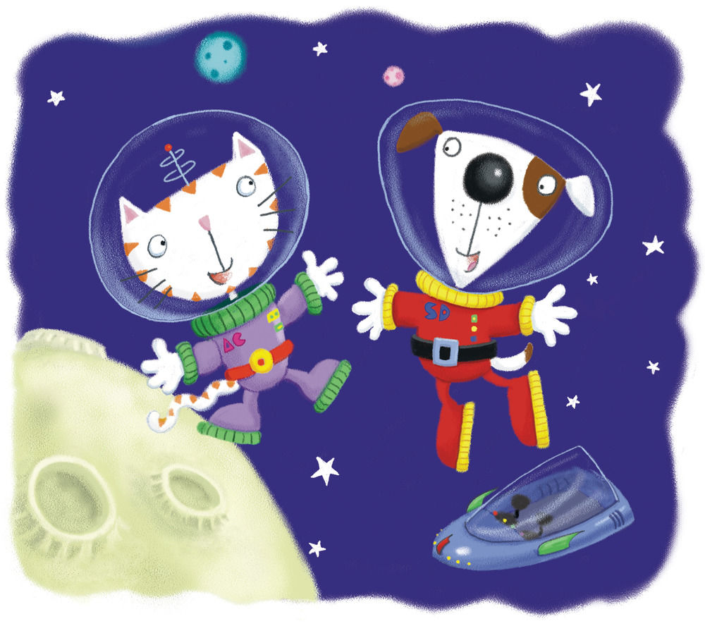 Astrocat and Spacedog