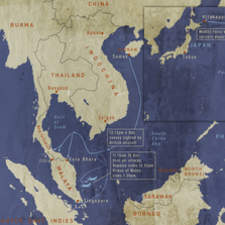 Pearl Harbour Map 1600