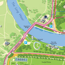 Map Hyde Park