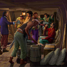 Pirates below decks