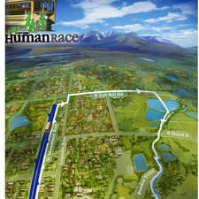 Race map posters