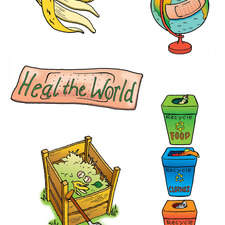 recycling to heal the world