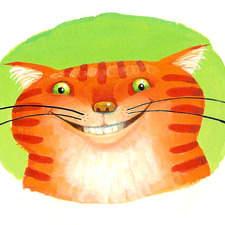 Birthday Ginger Cat