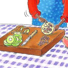 Fruit salad Chop