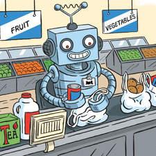 Robots and aliens etc