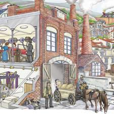 Industrial City 1800