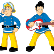 Fireman Sam and Elvis