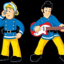 Fireman Sam and Elvis