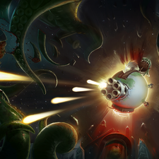 Bloody Aliens - Promotional Art work for iPad, iPhone app
