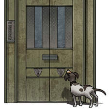 The Old Lift - Cover illustration