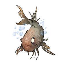 Zombie Goldfish - Cover illustration