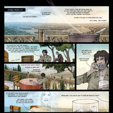 Lost Hope Diary - page 03 - Comic I did for Çiztanbul, Turkish Comic Edition