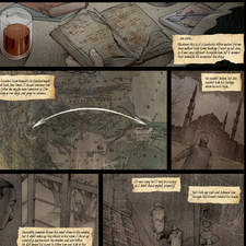 Lost Hope Diary - page 01 - Comic I did for Çiztanbul, Turkish Comic Edition
