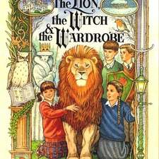 Cover for Lion Witch and Wardrobe graphic novel.