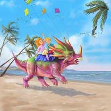 Dinosaur Suitcase