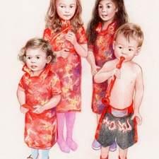 Chinese New Year Children