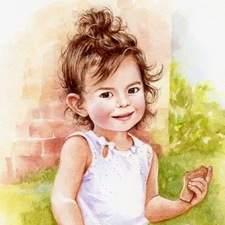 Little Girl Summertime