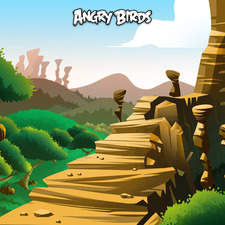 Angry Birds landscape