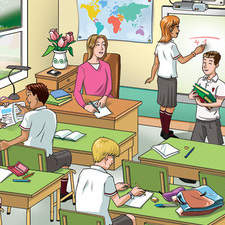 Illustration for English Language Teaching Publication