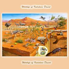 Wildlife of Kalahari Desert