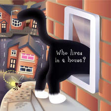 Track the cat through the housing estate to its cat flap...