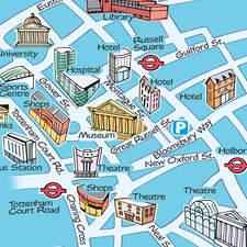 A Barclay London Map
