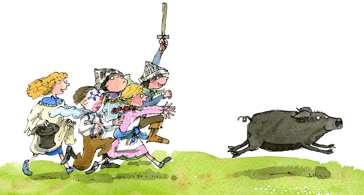 Fancy dress, Pig Chase