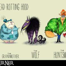 Little Dead Rotting Hood Characters