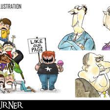 Freelance Illustrations