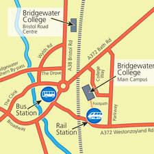 Simple location map - vector artwork