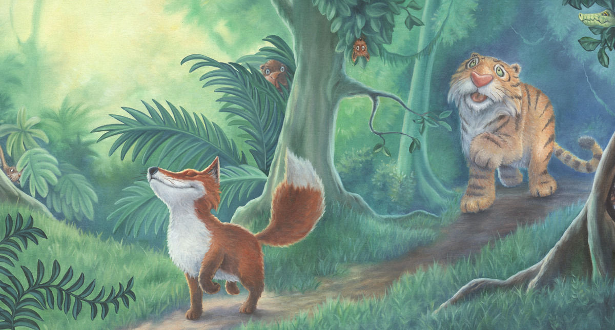 The Tiger And The Fox