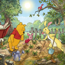 Internal spread for Winnie the Pooh encyclopedia