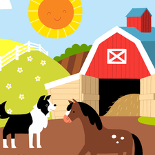 Farm yard puzzle